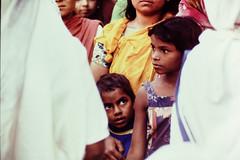 S28 webboy in line for food_0451 (kcadpchair) Tags: motherteresa missionariesofcharity calcutta kolkata lepers hansen people portrait urban poverty child youngboy younggirl volunteers kalighat