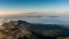 Les Saintes - Soufrire - [Guadeloupe] (Thierry CHARDES) Tags: sigma1750mmf28 fumerolles canaldessaintes ladominique lessaintes laciterne france antilles carabes caribbean guadeloupe volcan soufrire basseterre sunrise iles