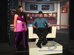 Star Trek  convention 2016-15 (GoFreak Media) Tags: lasvegas startrek star trek convention gofreakmedia data spock klingon thenextgeneration kirk jonjonthephenomenon