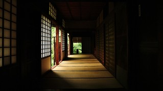 Light and shadow /  Kyoto Daitokuji Koto-in  Temple