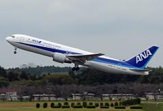 All Nippon Airways (ANA) Boeing 767-381(ER) JA618A (EK056) Tags: all nippon airways ana boeing 767381er ja618a tokyo narita international airport