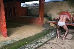 "Kusti - Varanasi (dsaravanane) Tags: saravanan dhandapani dsaravanane yesdee ""yesdeephotography"" ""yesdee"" ""saravanandhandapani"" ""streetphotography"" life ""kushtilife"" varanasi up india ganges ""varanasi2016"" ""monsoonvaranasi"" nikon d800 ""nikond800"" kusti kushti ""warmup"" ""kustiwarmup"" ""kustifield"""
