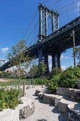 Manhattan Bridge from Dumbo (Chris.Har) Tags: newyorkcity nyc manhattanbridge dumbo brooklynbridgepark a7r