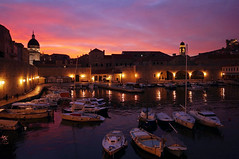 Nights in Croatia (micebook) Tags: croatia city town night lights ocean sunset culture ruins buildings old beauty castle trees fireworks milan kovac photography nightphoto