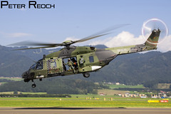 79+11 / German Army / NH90 (Peter Reoch Photography) Tags: german army heer germany nhi nh90 tth tactical troop helicopter combat military aircraft zeltweg austria austrian air force airshow airpower16 airpower show flying hover taxiway