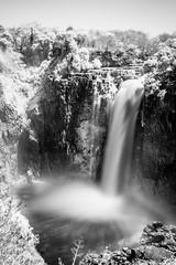 Victoria Falls (Neal_T) Tags: 35mm africa black fujifilm landscape longexposure nature r72 river rocks splash travel victoriafalls waterfall waterfalls white xt10 zambezi zambeziriver zambia zimbabwe filter infrared matabelelandnorthprovince zw