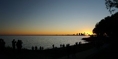 Witnesses (@ThetaState) Tags: toronto ontario canada september 2016 infuture ontarioplace art festival sunset lakeontario water dusk