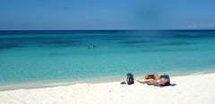 Relaxing at Bahia de las Aguilas (little_duckie) Tags: bahiadelasaguilas pedernales dominicanrepublic republicadominicana caribbean beach laplaya