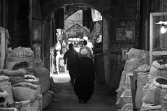 Tabriz Bazaar (Lluis Bono) Tags: blackwhite iran silkroad bazaar tabriz