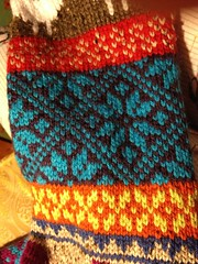 IMG_0224.jpg (gray la gran) Tags: scarf acrylic infinity fairisle stranded favoritethings vannaschoice