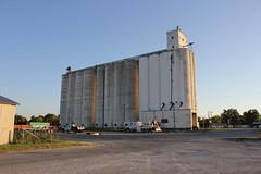 Mill, Burkburnett, Texas (TexasExplorer98) Tags: railroad sunset mill rural texas trains historic depot smalltown traindepot burkburnett wichitacounty