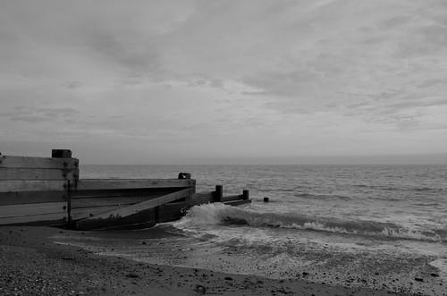 The tide is comming - B&W ©  Still ePsiLoN