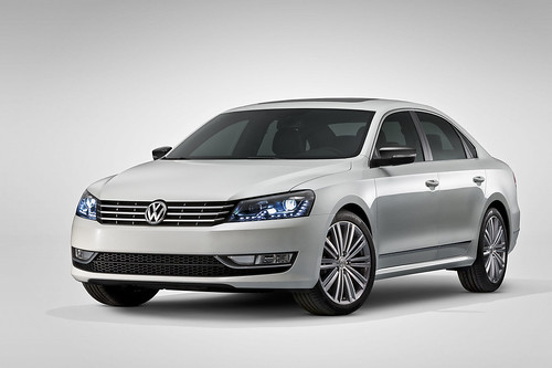 Volkswagen Passat Concept debuts at the NAIAS