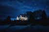 Winter's eve (Bergen64) Tags: blue norway landscape norge availablelight bergen hordaland d800 vestlandet landskap carlzeiss dfine colorefexpro distagont1435 zeisscontest2012