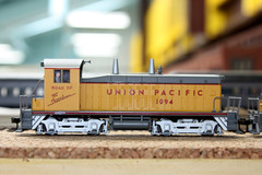 Union Pacific Wyoming Division (twm1340) Tags: county railroad arizona scale up train layout utah ut model gm pacific general union az motors huge wyoming ho division ogden cheyenne wy switcher 1094 verdevalley yavapai emd nw2 2013 cornville