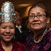 Miss Navajo Nation Leandra Thomas and mom. Navajo Nation Inaugural Reception. Jan. 20, 2013. Photo by Megan Witt.