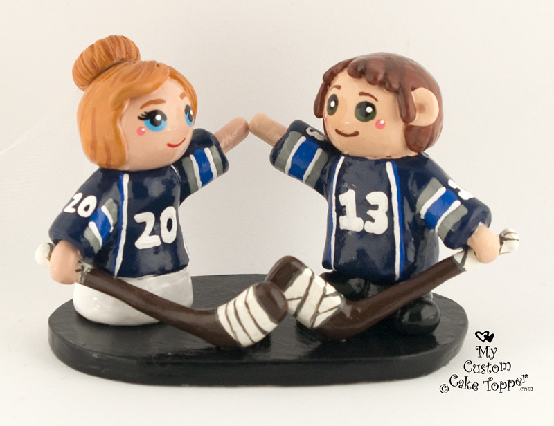 hockey themed wedding cake toppers the world s most recently posted photos by my custom cake 15262
