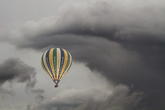 Lighter than air (Michel Couprie) Tags: sky france clouds canon eos hotair ballon balloon 100mm ciel 7d nuages montgolfire ef10028lmacro
