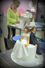 Bride and Groom (Klaire with a Cake) Tags: groom bride mckay lorraine tls thelittlecupcakery klairescupcakes