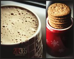 201365  Sustenance 027 (Melissa Maples) Tags: winter food coffee cookies turkey nikon diptych asia trkiye antalya biscuits nikkor latte vr afs  sustenance 18200mm  f3556g  18200mmf3556g 201365 d5100