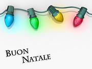 Christmas Lights Buon Natale (One Way Stock) Tags: christmas holiday lights border decoration frame string colored merry natale multi buon