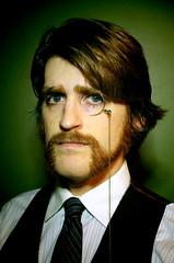 Patrick (Crissy Teena) Tags: portrait man beard professor monocle