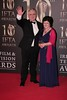 Eamon Gilmore and Guest at Irish Film and Television Awards 2013 at the Convention Centre Dublin