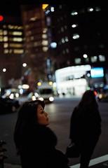 You and the night and the music (Mamoru Yasuda) Tags: street portrait japan night tokyo ginza kodak bokeh tmax explore push 800 portra400 leicam6ttl carlzeissplanart50mmf2