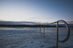 Help (J.Michael.Haas) Tags: sunset ice frozen sweden stockholm stock hagaparken canon5dmkii 5dmkii