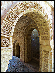 Arches, La Medina d'Agadir (EXPLORE) (ronramstew) Tags: brick art design arch crafts agadir morocco berber maroc archway 1001nights marruecos marokko brickwork motifs craftmanship lemaroc mygearandme mygearandmepremium cocopolizzi medinadagadir bensergao
