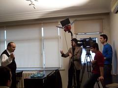 Beyaz TV - İş ve Yaşam Programı - Kamera Arkası Görüntüleri - 09.02.2013 (4)