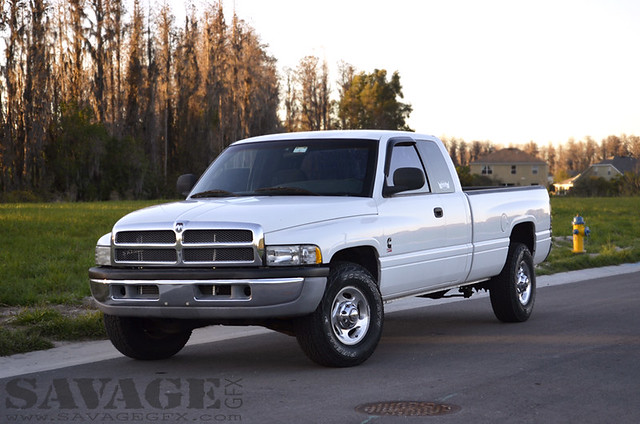 white truck diesel pickup dodge ram tow cummins 2500