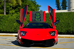 SuperVeloce [Explore] (Matthew C. Photography) Tags: classic up 35mm dead photography hotel 1 nikon doors matthew c 4 battery engine lot super andromeda cover breakers f18 rosso lamborghini rare sv scissor valet murcielago veloce cavallino 2013 d3200 superveloce lp670