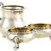 2043. Continental Silver Condiment Server
