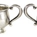 2083. Sterling Silver Sugar & Creamer Set