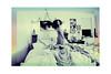 bedroom (I $ A TEOFILO) Tags: portrait girl self bedroom dream teen squareformat gradient dreamy teendaze