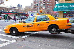 Picture Car Ford Crown Victoria NYC Taxi (Triborough) Tags: nyc newyorkcity ny newyork chelsea manhattan newyorkcounty