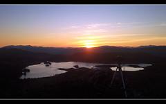 A timelapse in progress (Inverness-Andrew) Tags: uk winter sunset sky mountains water mobile landscape lights scotland highlands hills mobilephone loch lochs lochtarff