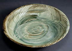 Ceramic Bowl (VesperTokyo) Tags: art japan ceramics object potter gen tableware eatingutensils kozuru 陶芸家 高鶴元 japaneseware 上野焼