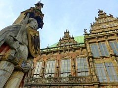 The Town Hall and the statue of Roland on the marketplace of Bremen (Unesco World heritage) (Frans.Sellies) Tags: world heritage germany deutschland site unescoworldheritagesite unesco worldheritagesite list roland bremen unescoworldheritage sites worldheritage weltkulturerbe whs humanidad patrimonio worldheritagelist welterbe kulturerbe patrimoniodelahumanidad heritagesite unescowhs patrimoinemondial werelderfgoed vrldsarv  heritagelist werelderfgoedlijst verdensarven wolrdheritagelist   patriomoniodelahumanidad    patriomonio p1030243