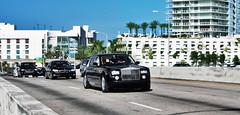 Bienvenido a Miami (TeddyGonsalez) Tags: ocean life beach highway miami good south palm rolls expressway phantom royce rollin worldcars