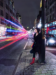 Long exposure towards Whitehall (Anatoleya) Tags: street camera city light bus london girl st night square evening big long exposure traffic ben trails trafalgar samsung galaxy le sq whitehall anatoleya samsunggalaxycamera ekgc100