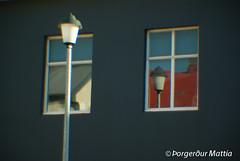 illusion (thorgerdur mattia) Tags: house reflection colors illusion bergrugata beondthesurface bergthorugata