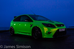 Focus RS at Birsay (James Simison) Tags: longexposure blue sea sky green ford car speed islands scotland orkney mod focus automobile fast super turbo beast tune carbon modification quick rapid kn mods lightroom revo tuned fastandfurious lightpaint fordfocusrs sitech devilsown canon7d sitechracing