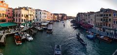 Rialto Panorama (digital_slice) Tags: bridge venice italy panorama canon 350d march kitlens brug venezia venetie rialto veneto 2013