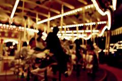 Carousel (Electra K. Vasileiadou) Tags: blur kids nikon bokeh disneyland carousel amusementpark 1855mm funfair impressionist funpark d3100 gettyimagesjapan13q1