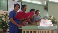 "Quartet singing ""Rose of Sharon"" in Hiligaynon. (Fellowship Baptist Church - Bacolod) Tags: fbc 65th"