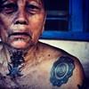 Dayak kenyah (Sebastian Hedin) Tags: tattoo indonesia borneo kalimantan dayak kenyah uploaded:by=flickrmobile flickriosapp:filter=nofilter