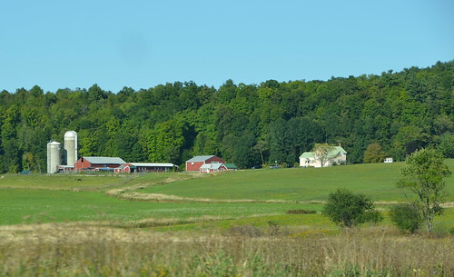 Farm country Vermont