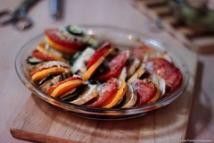 Vegetable Tian (Janet) Tags: vegetables dinner tomato sweet potato butternut nauttia vegetabletian